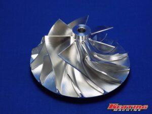 "3.9"" X 5.55"" Billet Compressor Wheel HC5A, HX82, HX80, HX85"