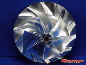 "3.9"" X 5.55"" Billet Compressor Wheel HC5A, HX82, HX80, HX85"