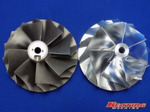 "4.25"" X 5.55"" Billet Compressor Wheel HC5A, HX82, HX80, HX85"